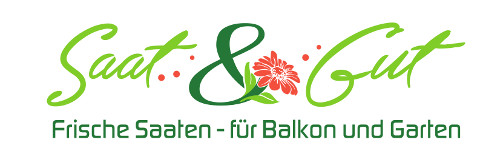 Logo Saat u Gut Frische Saaten für Balkon Garten